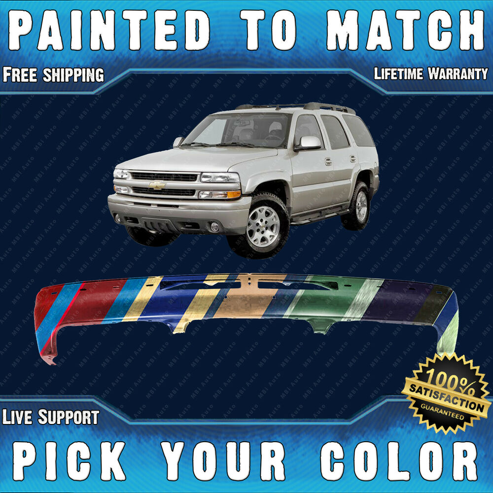 NEW Painted To Match Steel Front Bumper 2000-2006 Chevy