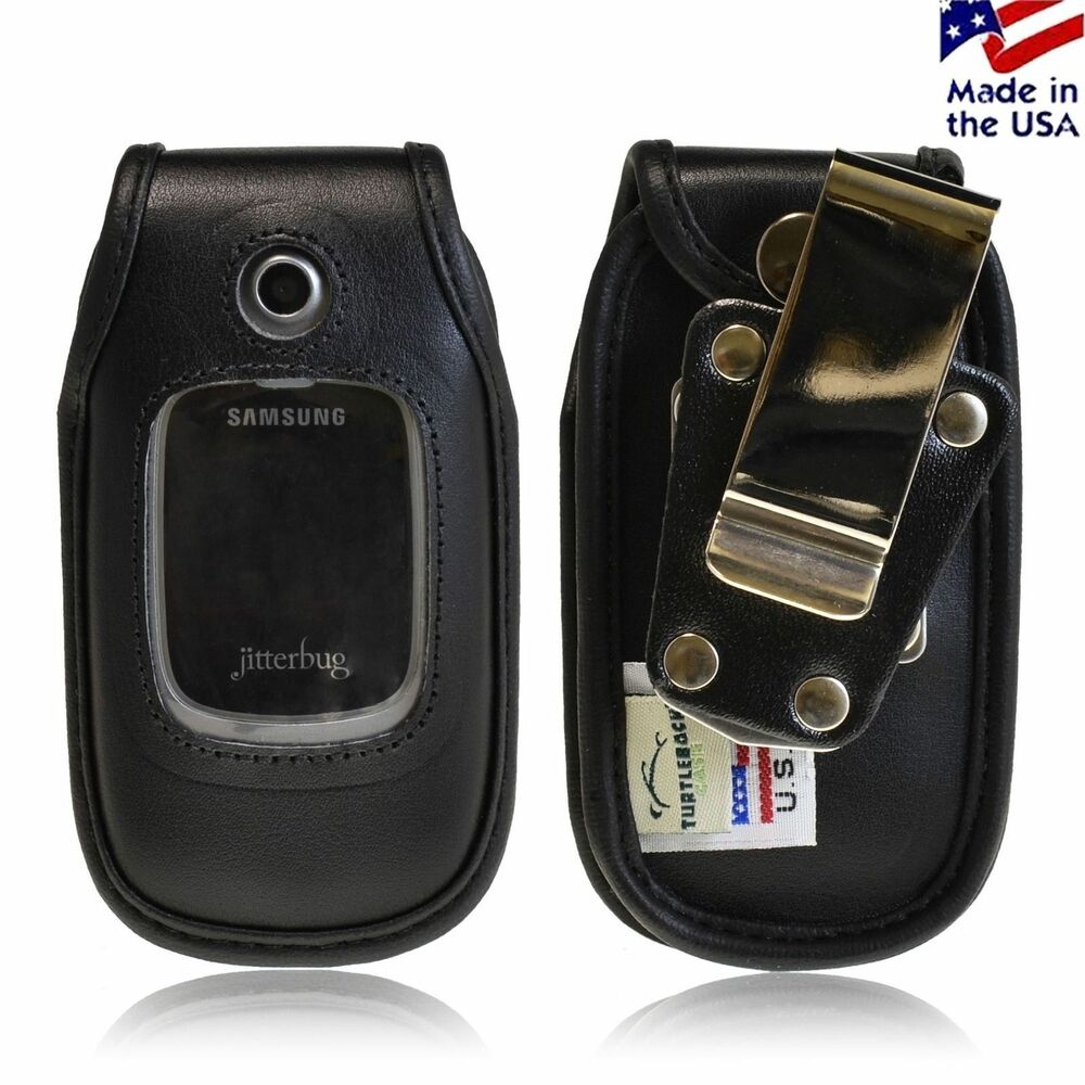 Samsung R220 Jitterbug Plus Turtleback HD Leather Case : eBay