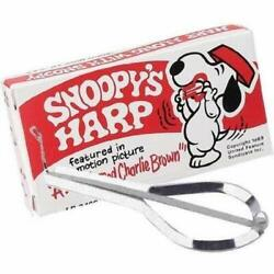 SNOOPY JAW HARP (INCLUDES INSTRUCTIONS ON HOW TO PLAY) 12 IN