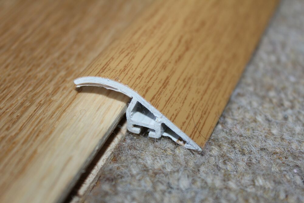Effect Door Edging Floor Trim Threshold Wood Laminate Tiles C40 EBay