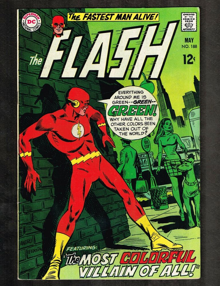 Comic Book Cover Tutorial Photo : Flash the most colorful villain of all