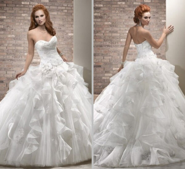 Abito da sposa - Wedding dress - C Organza - mod. 00107
