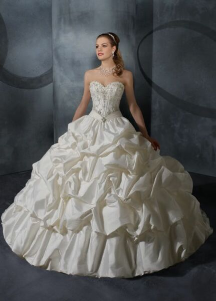 A00110 Abito da Sposa - Wedding Dress - Taffeta