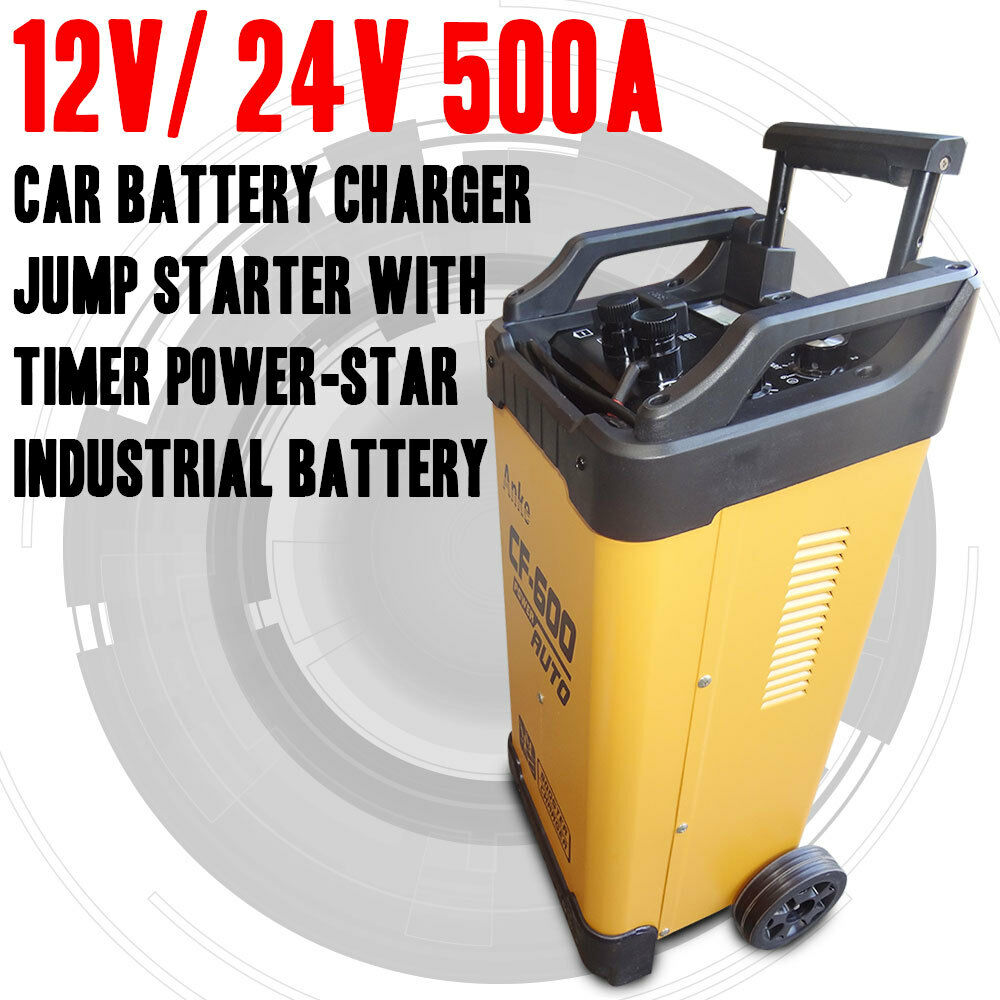 How To Jump Your Car With A Battery Charger
