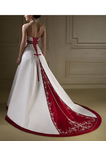 Abito da sposa - Wedding dress - A Satin - Impero -  A 00115