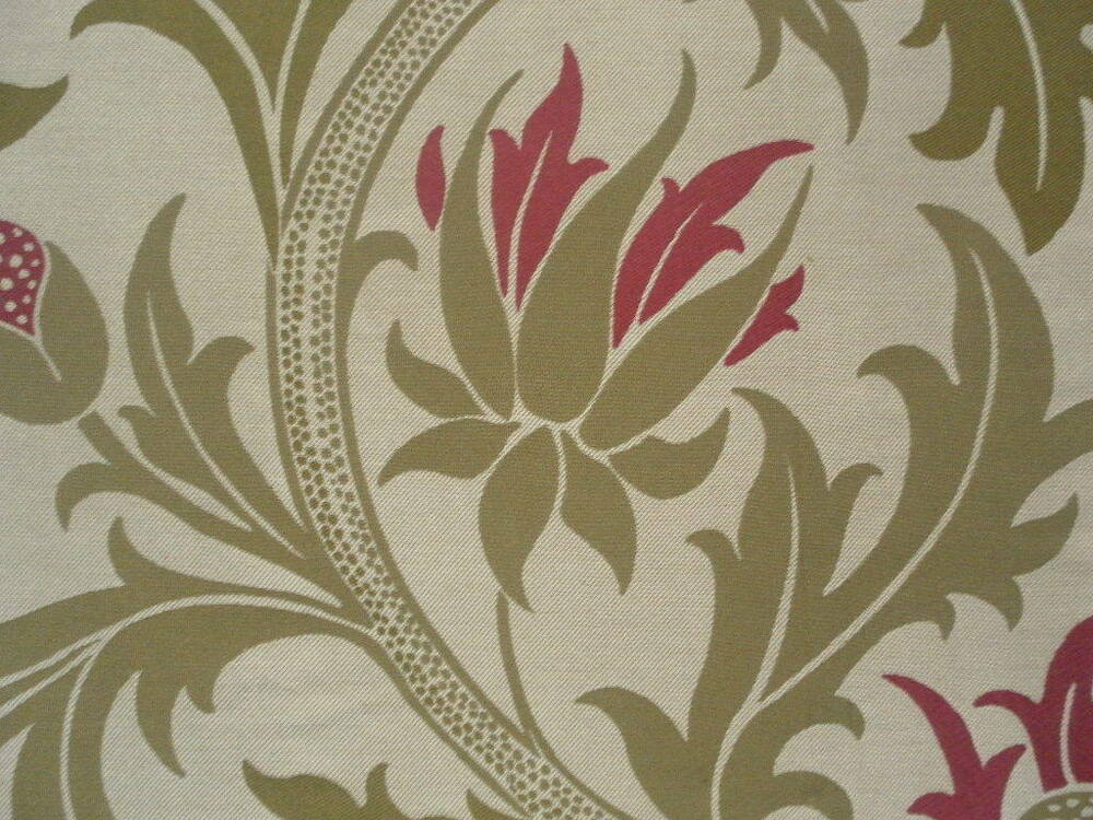 William morris fabric planet ivory rose weave design for Fabric planet