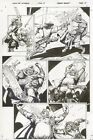Conan The Cimmarian #17 p.15 All Action - Signed art by Tim Truman