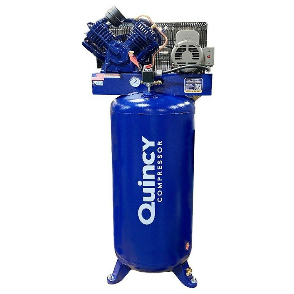 Quincy Qt Pro 5 Hp 60 Gallon Two Stage Air Compressor
