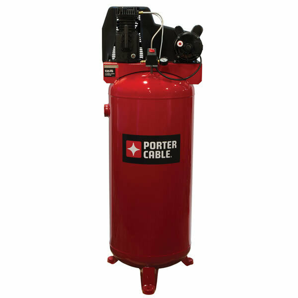 Porter Cable 3 7 Hp 60 Gallon Single Stage Air Compressor