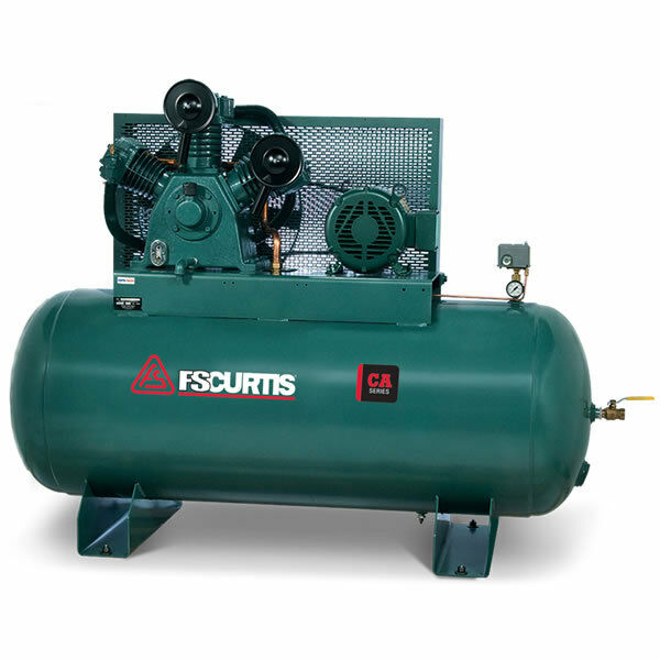 Fs Curtis Ca10 10 Hp 120 Gallon Two Stage Air Compressor
