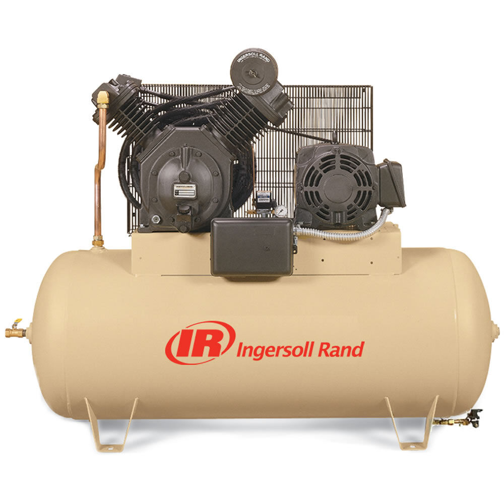 Ingersoll Rand 15 Hp 120 Gallon Two Stage Air Compressor