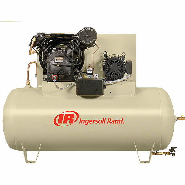 Ingersoll Rand 10 Hp 120 Gallon Two Stage Air Compressor