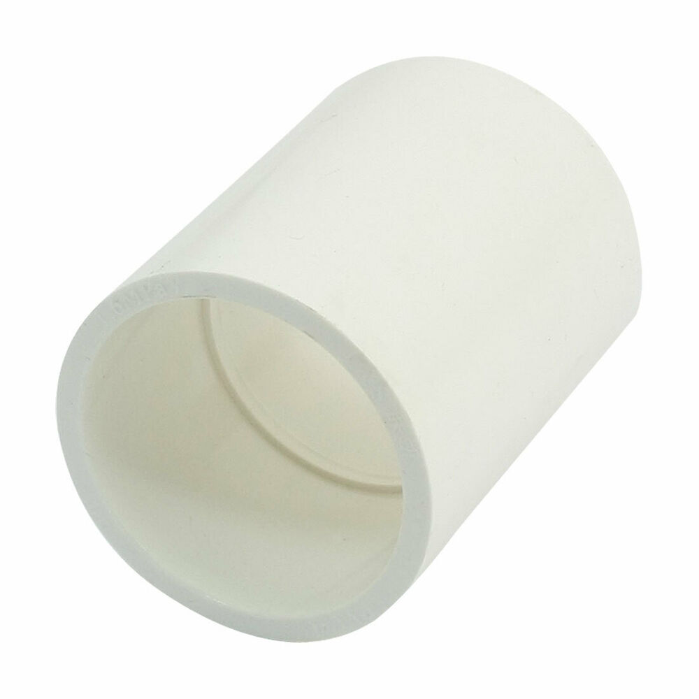 40mm inner dia white pvc u water pipe straight connect