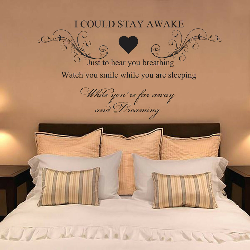Aerosmith breathing quote vinyl wall art sticker decal for Bedroom vinyl quotes