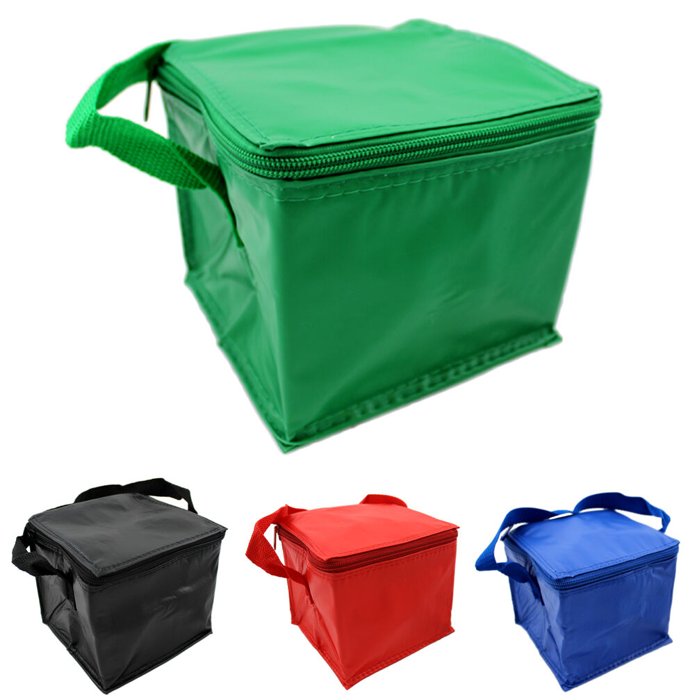 Cool Bag Mini 4 Can Insulated Thermo Snack Sandwich Lunch