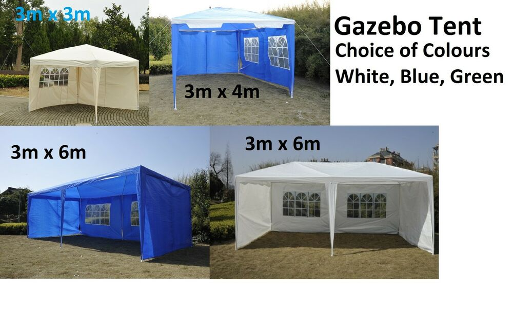 New Party Tent Gazebo Outdoor Marquee Waterproof Canopy 3m