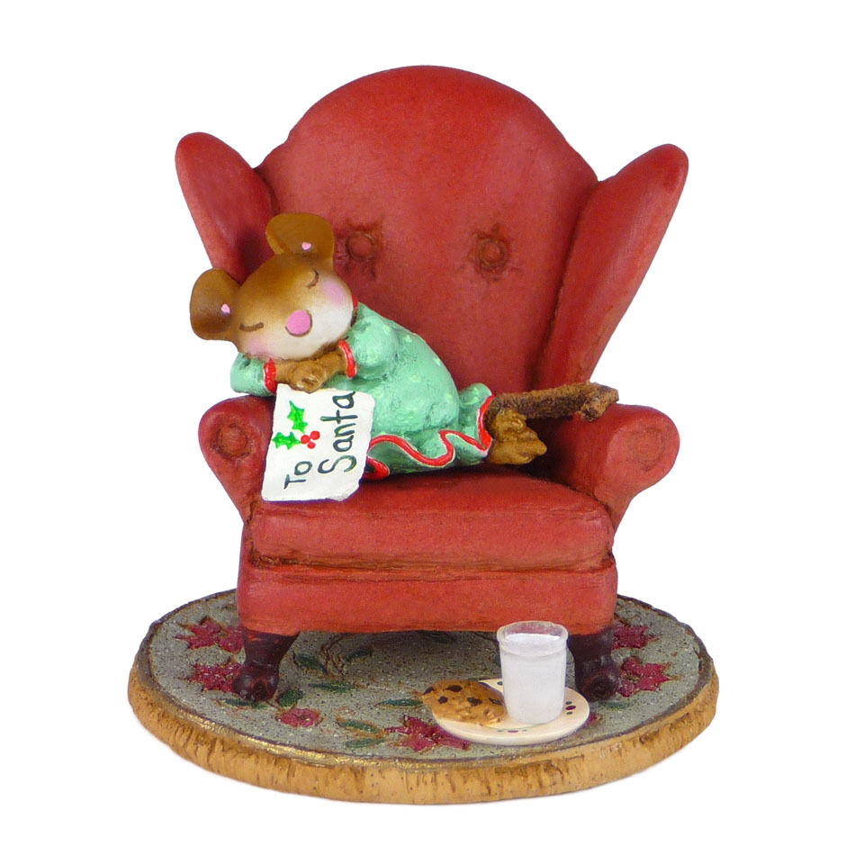 Waiting Up By Wee Forest Folk Wff M 472 Christmas Mouse Ebay