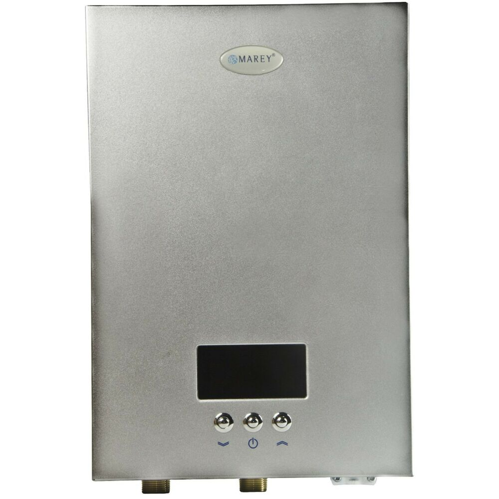 electric tankless water heater marey electric tankless water heater eco180 220 240v 18kw 29295