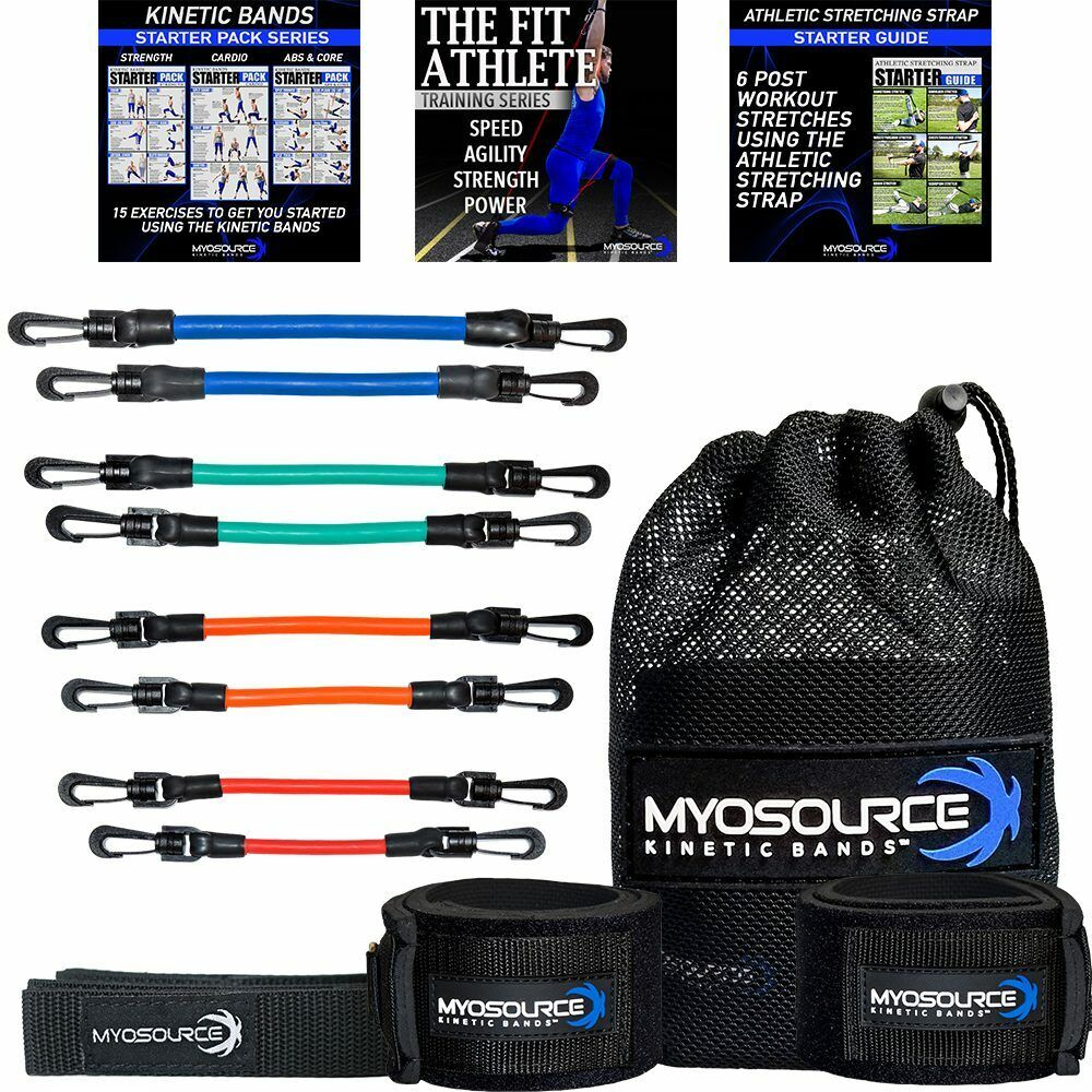 Official Kinetic Bands Speed Resistance Training Tool For