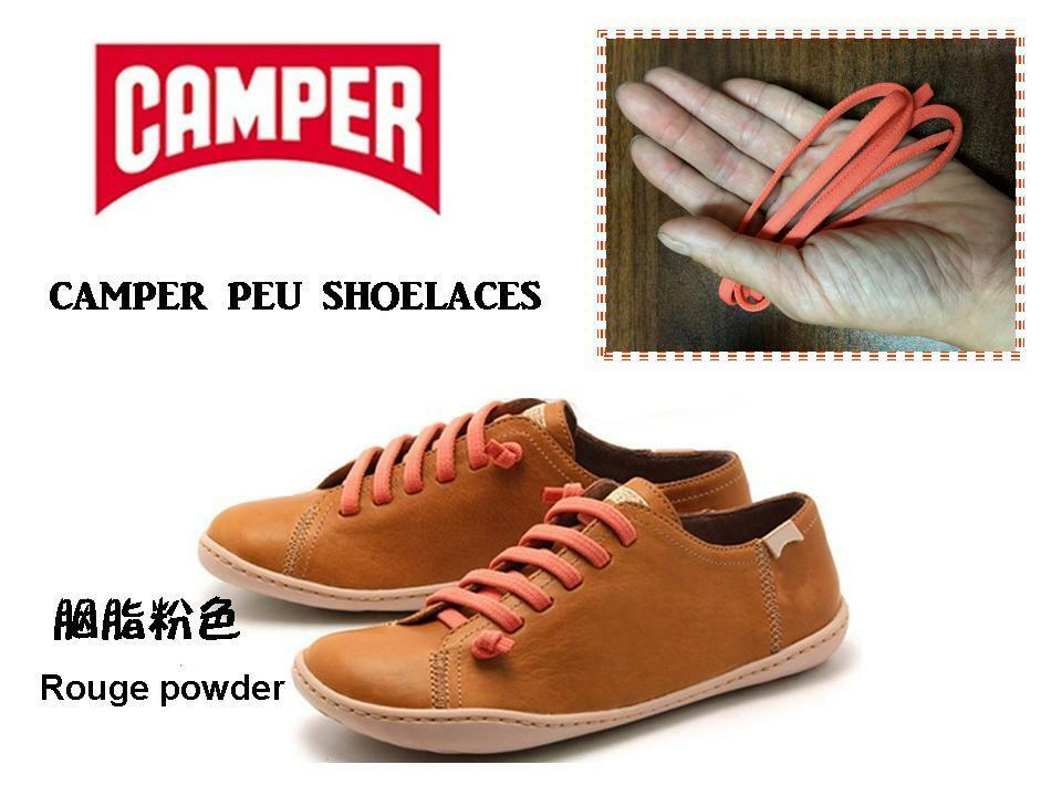Camper Shoes Red Laces