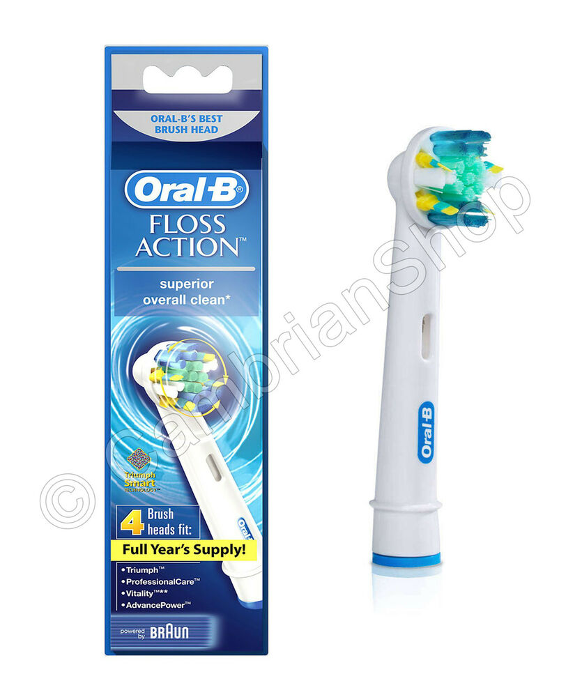 from Markus oral b floss action replacement heads
