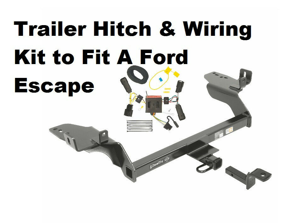 class ii trailer hitch & wiring kit for ford escape 2013 ... trailer hitch wiring harness for lexus rx 350 trailer hitch wiring diagram for ford #6