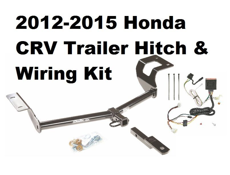 class ii trailer hitch wiring for 2012 2016 honda crv ebay. Black Bedroom Furniture Sets. Home Design Ideas