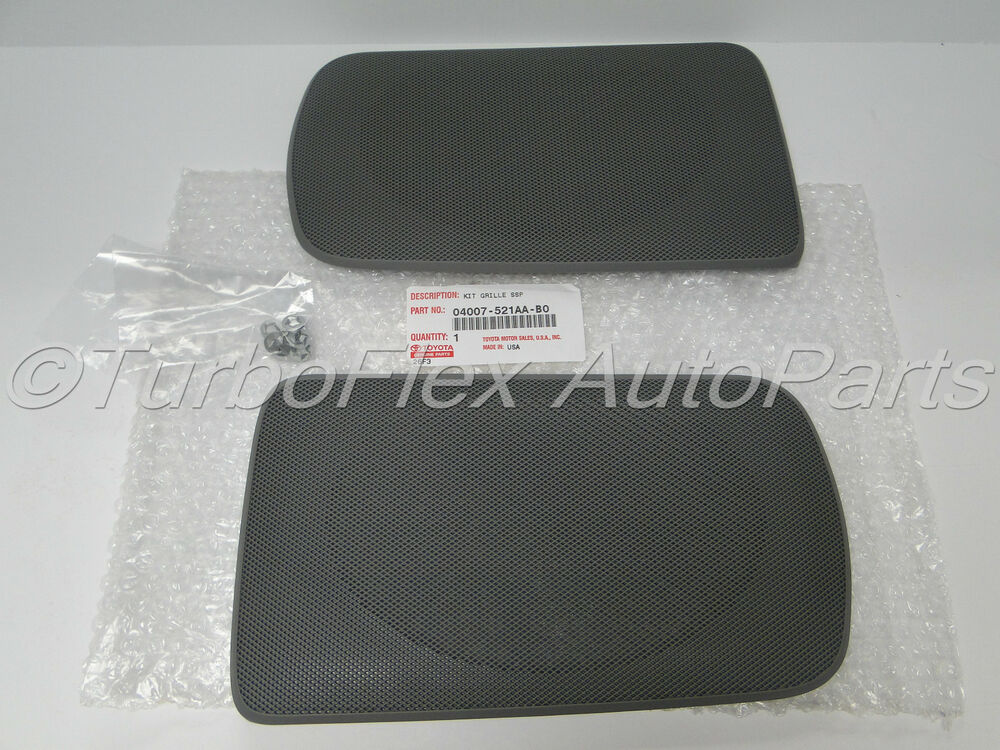 toyota camry 2002 2006 genuine oem rear speaker grill cover gray 04007 521aa b0 ebay. Black Bedroom Furniture Sets. Home Design Ideas