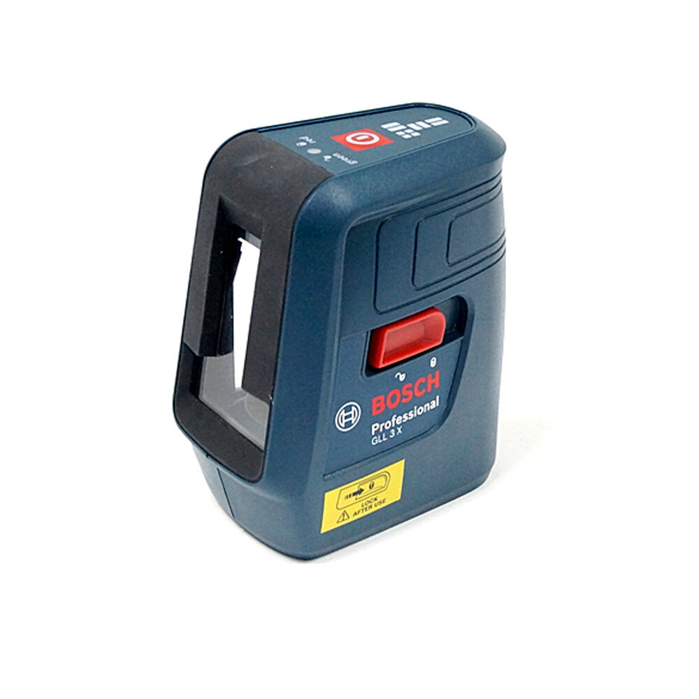 bosch gll 3x professional compact self leveling cross 3 line laser ebay. Black Bedroom Furniture Sets. Home Design Ideas