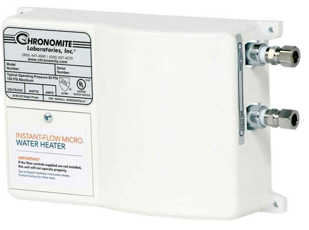 Chronomite M 30 277 Instant Flow Micro Tankless Electric
