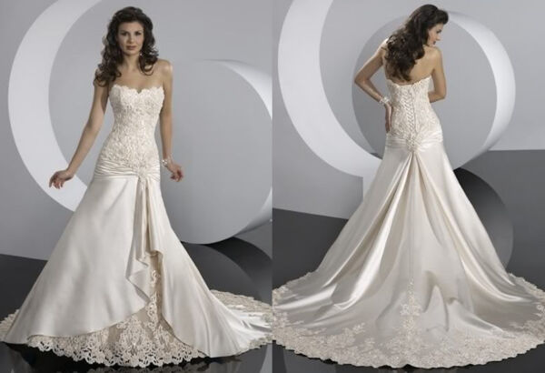 Abiti da sposa Wedding dresses - su misura custom-made A00117-00118-00120