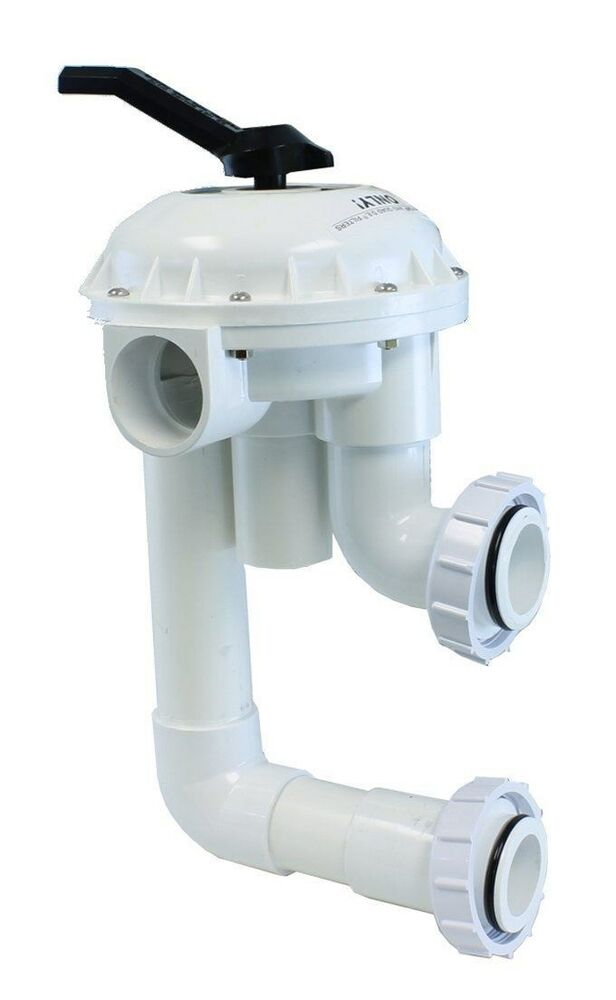 Pentair 2 multiport hi flow 261050 valve 7 5 centers for triton sand filters ebay - Pool filter sand wechseln ...