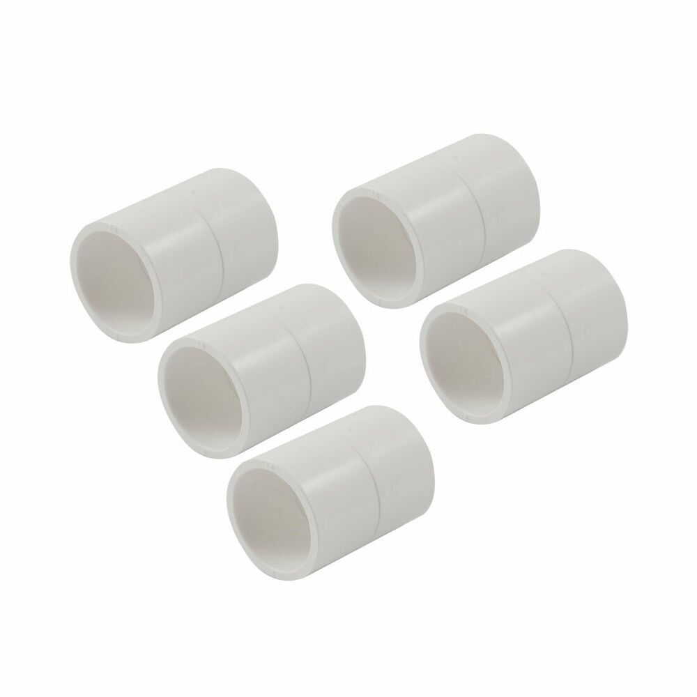 Mm pvc straight pipe hose joint adapter connectors pcs