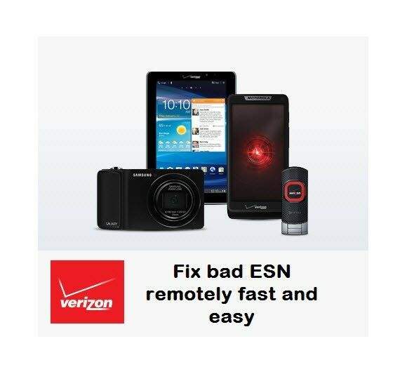 iphone bad esn clean or fix verizon android device iphone with bad esn 11628