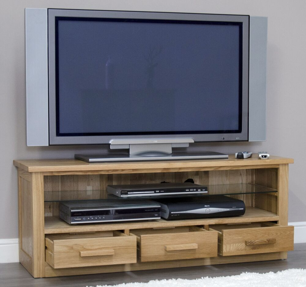 Arden solid oak living room furniture plasma television for Tv room furniture