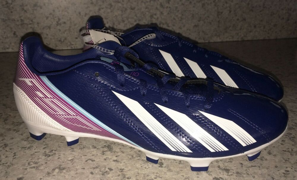 c12dc4b6b1 Details about ADIDAS F10 TRX FG Navy Blue Dark Pink Soccer Cleats Futball  Boot Mens Youth 6.5