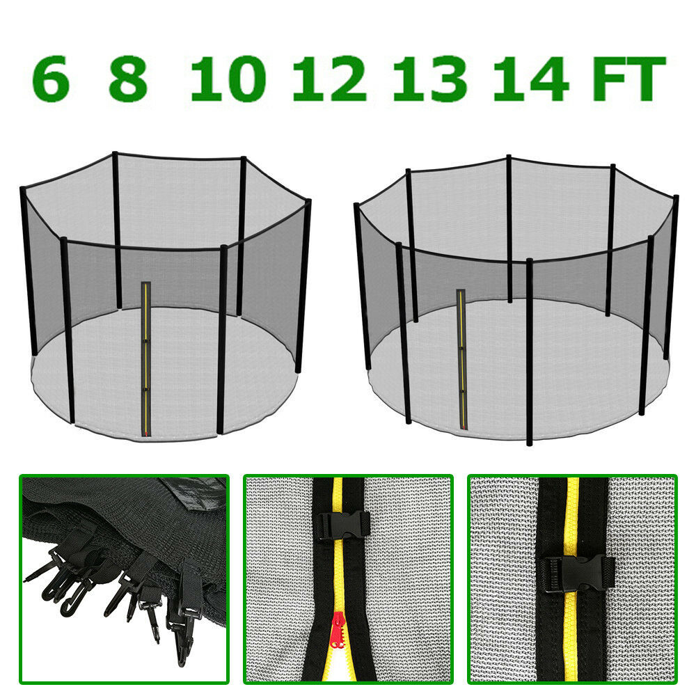 10 12 14 15 Trampoline Replacement Pad Pading Safety Net: 6 8 10 12 13 14 FT TRAMPOLINE REPLACEMENT SAFETY NET