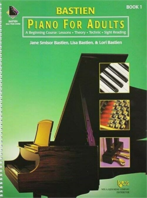 piano instruction books for adults
