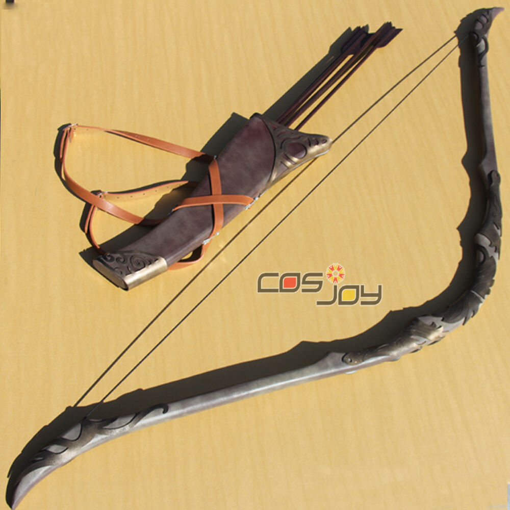 Lord of The Rings Legolas Greenleaf Bow and Arrows PVC ...