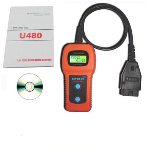 u480 universal obd2 can bus fault code reader scanner. Black Bedroom Furniture Sets. Home Design Ideas