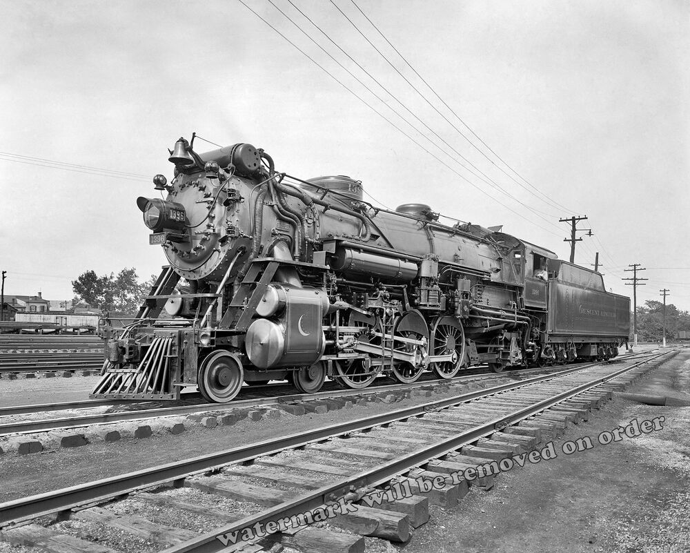 Photograph Locomotive 1396 Southern R R Crescent Limited