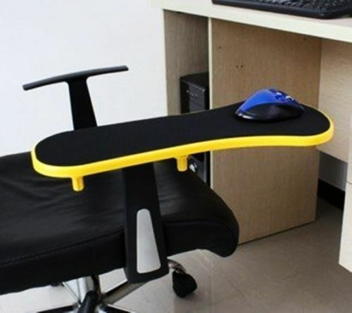 Yellow Computer Desk Chair Table Armrest Wrist Mouse Pad