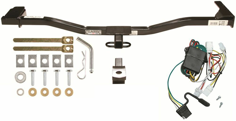 Trailer Hitch  U0026 Wiring Harness Kit Combo Fits A 1998