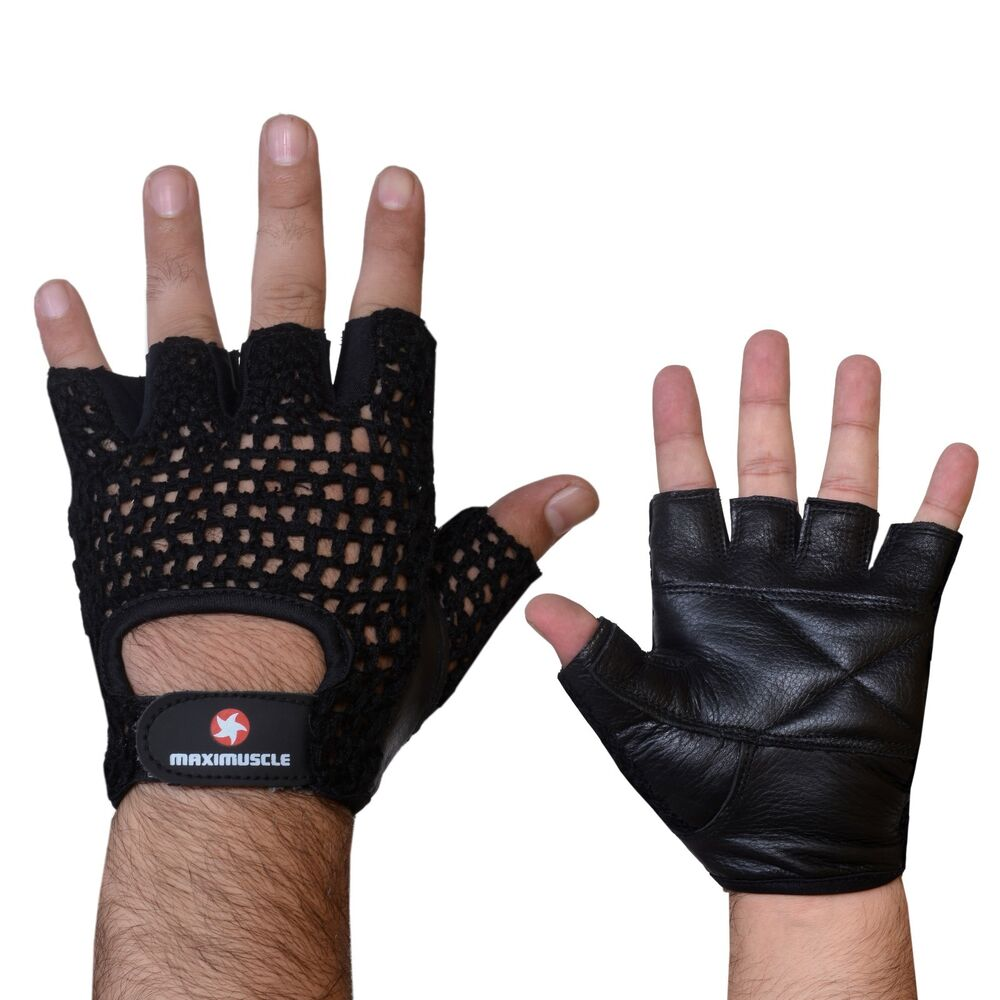 Fitness Weight Lifting Gloves: Maximuscle Net Training Gloves Weight Lifting Gloves Mesh