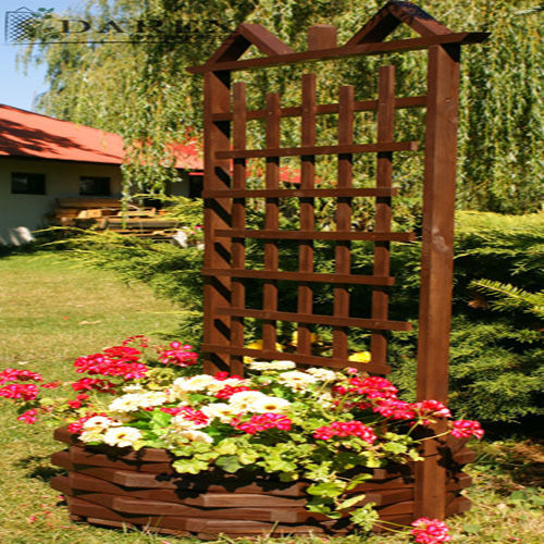 rankgitter artikelbild pergola mit blumenkasten pflanzkasten holz 152x62x62 new ebay. Black Bedroom Furniture Sets. Home Design Ideas