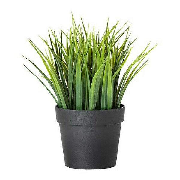 Ikea Mini Artificial Potted Plant Wheat Grass 8 Quot Lifelike