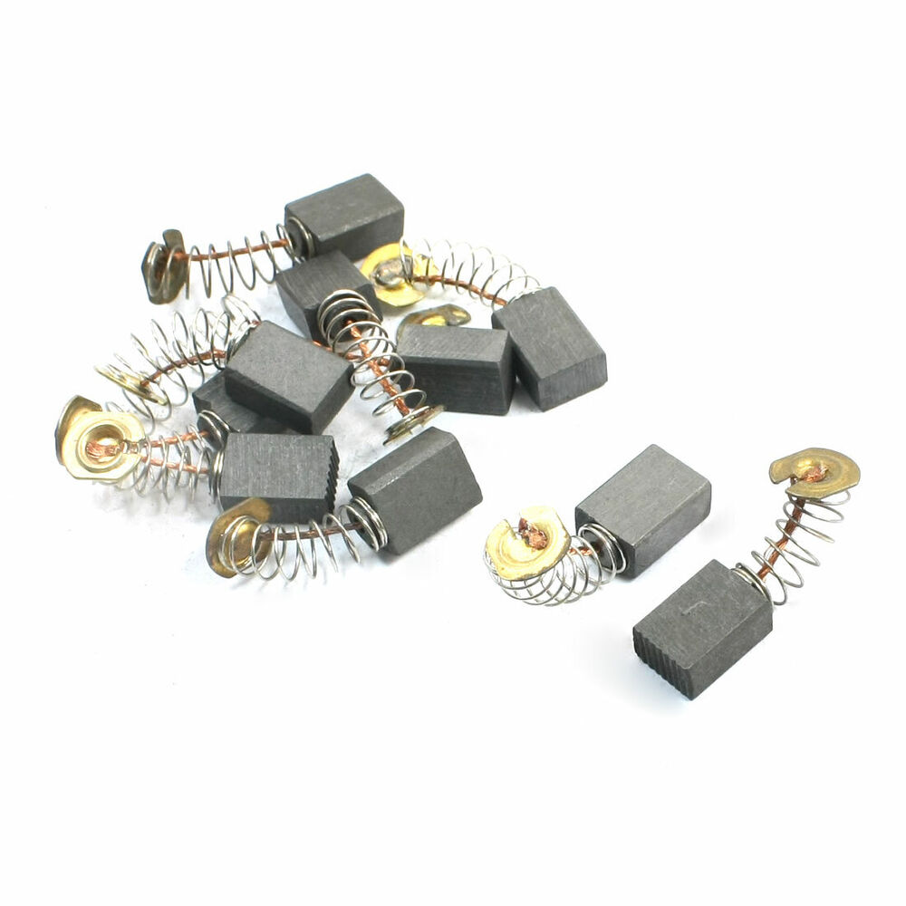 10pcs Electric Drill Parts Motor Carbon Brushes X