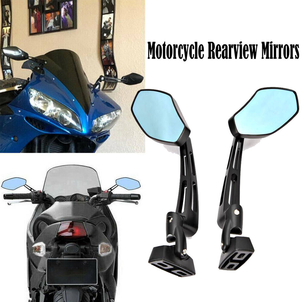 Motorcycle racing rearview mirrors for cbr 600 1000 r1 r6 for Yamaha r6 aftermarket mirrors
