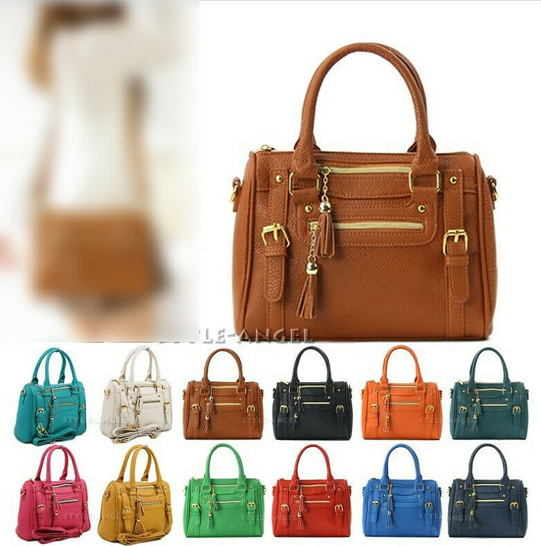New Ladies Shoulder Tote Handbag Womens Cross Body Bag ...