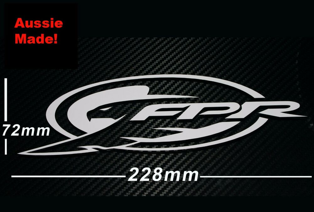 Fpr sticker v8 supercars ford performance racing car suit for What is fpr rating